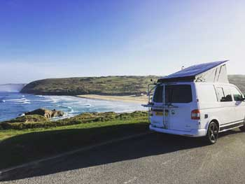 Campervan-Cornish-Beach